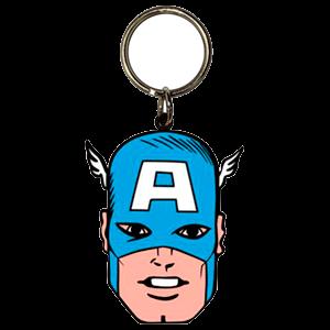 Llavero Marvel Capitan America Cara