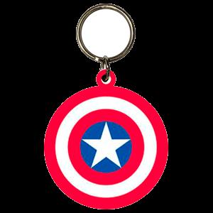 Llavero Marvel Capitan America Escudo