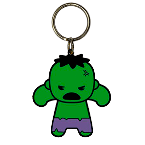 Llavero Marvel Hulk Kawaii
