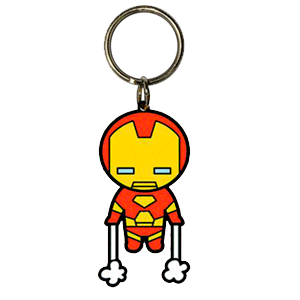 Llavero Marvel Iron Man Kawaii
