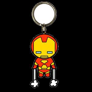 Llavero Marvel Iron Man Kawaii