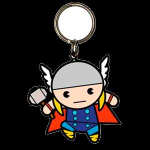 Llavero Marvel Thor Kawaii