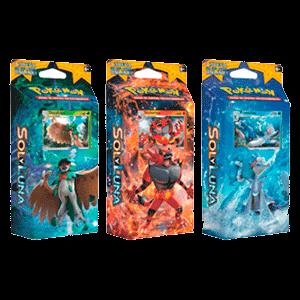 Baraja 60 Cartas Pokemon Sol y Luna - Nueva Ref