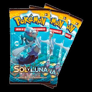 Sobre 10 Cartas Pokemon Sol y Luna - Nueva Ref
