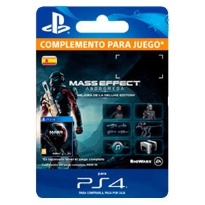 Mass Effect Andromeda - Deluxe Upgrade PS4