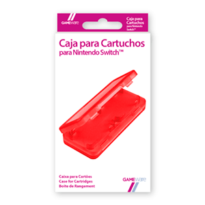 Caja para Cartuchos Nintendo Switch GAMEware