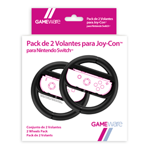 Pack de 2 Volantes negros para Joy-Con Switch GAMEware