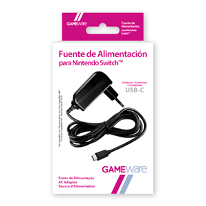 Fuente de Alimentación para Nintendo Switch GAMEware