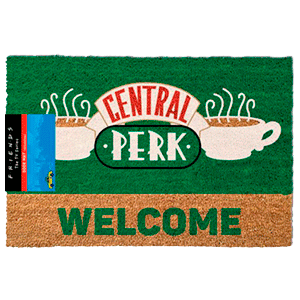 Felpudo Friends Central Perk