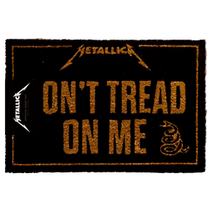 Felpudo Metallica Don`t Tread