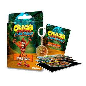 Crash Bandicoot N.Sane Trilogy - Pack Bonus