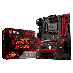 MSI X370 Gaming Plus AM4 ATX