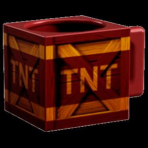 Taza Crash Bandicoot: Caja TNT