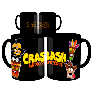 Taza Térmica Crash Bandicoot