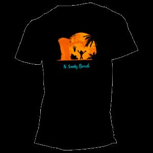 Camiseta Crash Bandicoot: N. Sanity Beach Talla L