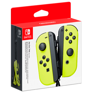 Joy-Con (set Izda/Dcha) Amarillo