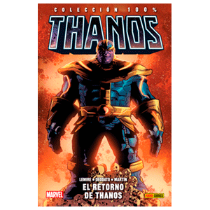 100 % Marvel. Thanos: Thanos Return nº 1