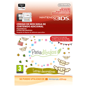 Pasadibujos: Deco Letters -3DS