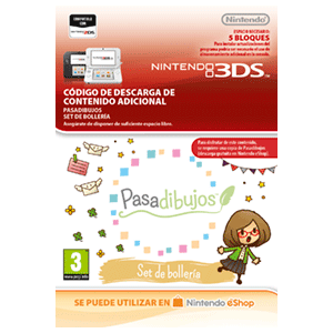 Pasadibujos: Bakery Blends Pen Set -3DS