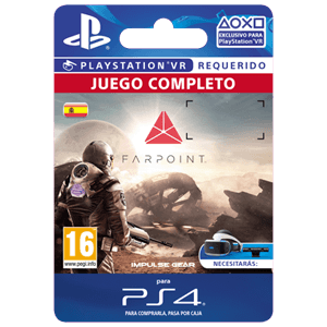 Farpoint Vr Ps4 Prepagos Game Es