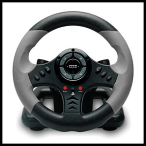 Volante Racing Wheel 3 Hori -Licencia Oficial Sony-