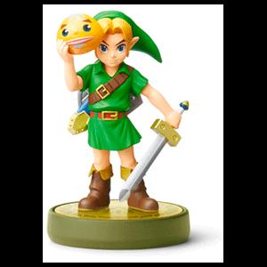 Figura amiibo Link Majora's Mask - Colección Zelda