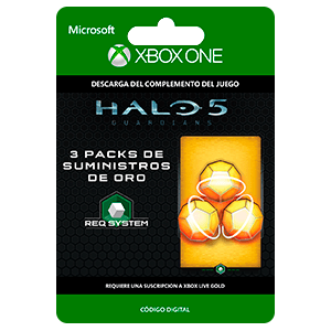 Halo 5: Guardians: 3 Gold REQ Pack XONE