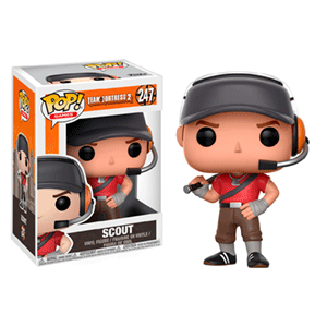 Figura Pop Team Fortress 2: Scout