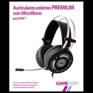 Auriculares Estéreo Premium con Micrófono GAMEware