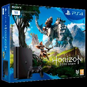 Playstation 4 Slim 1Tb + Horizon: Zero Dawn