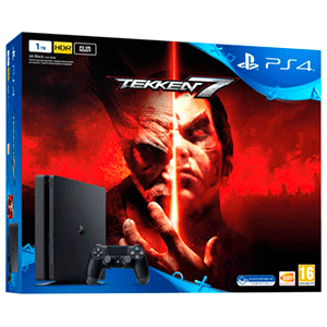 PlayStation 4 Slim 1Tb + Tekken 7