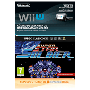 Super Star Soldier - Wii U