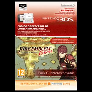 Fire Emblem Echoes: SoV: Pack Guerreros novatos -