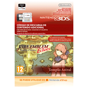 Fire Emblem Echoes: SoV: Templo Astral - 3DS