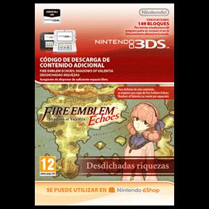 Fire Emblem Echoes: SoV: Desdichadas riquezas - 3DS