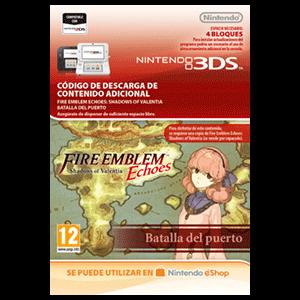 Fire Emblem Echoes: SoV: Batalla del puerto - 3DS