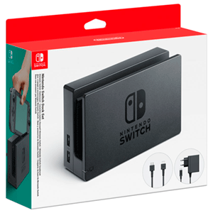 Switch Dock Set - Base + Adaptador corriente + HDMI