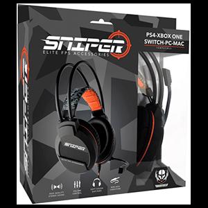 Auriculares Indeca Sniper 2017