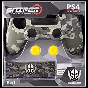 Kit 5 Accesorios mando PS4 Indeca Sniper 2017