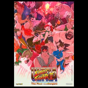 Ultra Street Fighter II - Póster