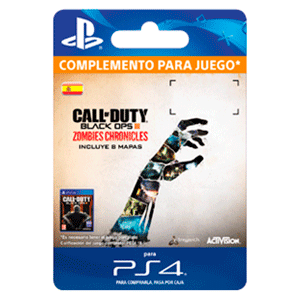 Call of Duty Black Ops III: Zombies Chronicles PS4
