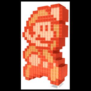 Figura Pixel Pals: Fire Mario