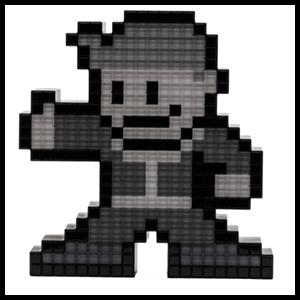 Figura Pixel Pals: Vault Boy Blanco y Negro