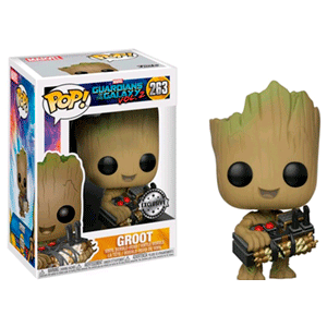 Figura Pop Guardianes de la Galaxia 2: Groot Ed. Limitada