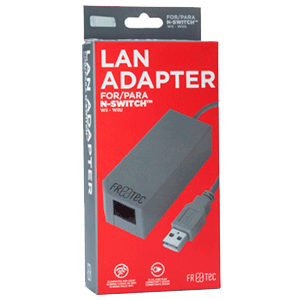 Adaptador LAN para Nintendo Switch Ftec