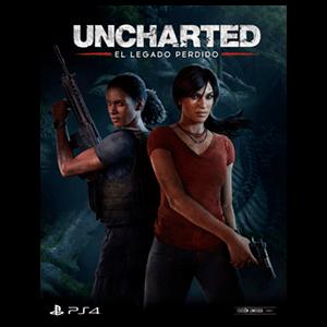 Uncharted El Legado Perdido - Póster