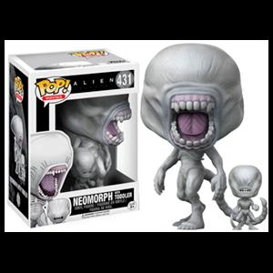 Figura Pop Alien: Covenant: Neomorph con Toddler