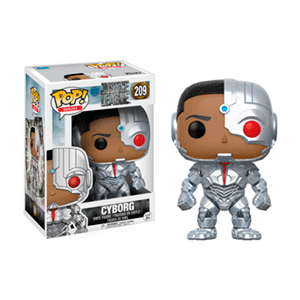 Figura Pop Justice League: Cyborg