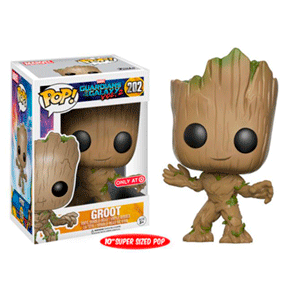 Figura Pop Guardianes de la Galaxia: Groot 26cm