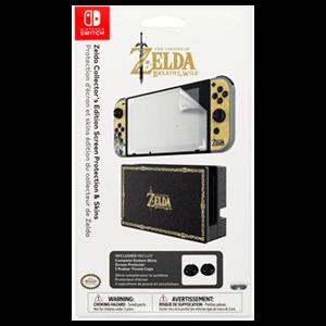 Set de Protección de Pantalla + Skins Zelda -Licencia Oficial-